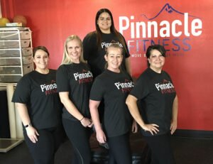 5 workout women in pinnacle fitness gym