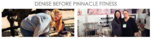 denise barrett - before Pinnacle Fitness