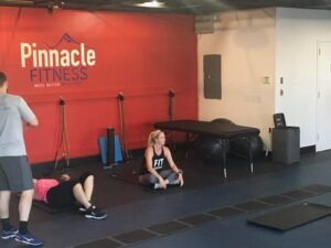 small group workout session