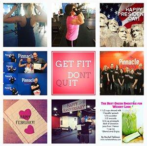 Pinnacle Fitness • Instagram image grid