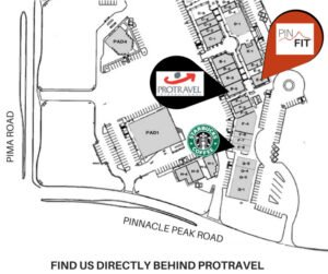 drawing map of pinnacle fitness location