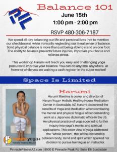 Balance 101 Yoga with Harumi