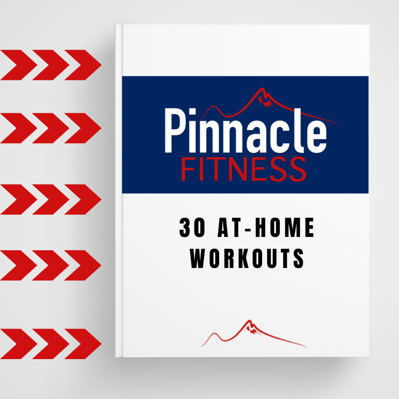 Download your 30 at home workouts from Pinnacle Fitness