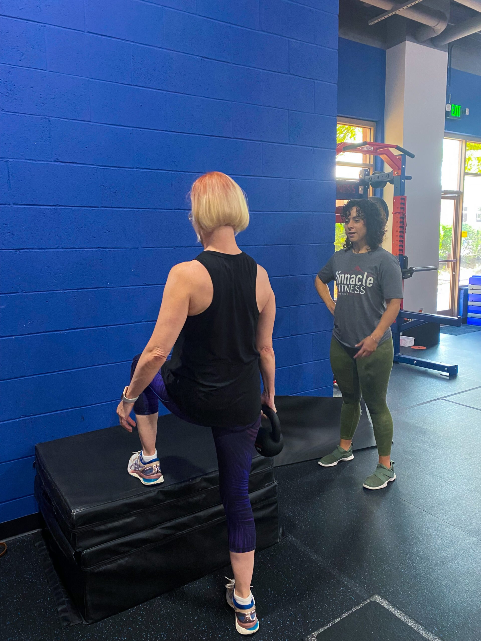 one-on-one training at Pinnacle Fitness